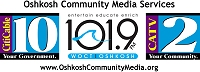 Oshkosh Community Media Services logo